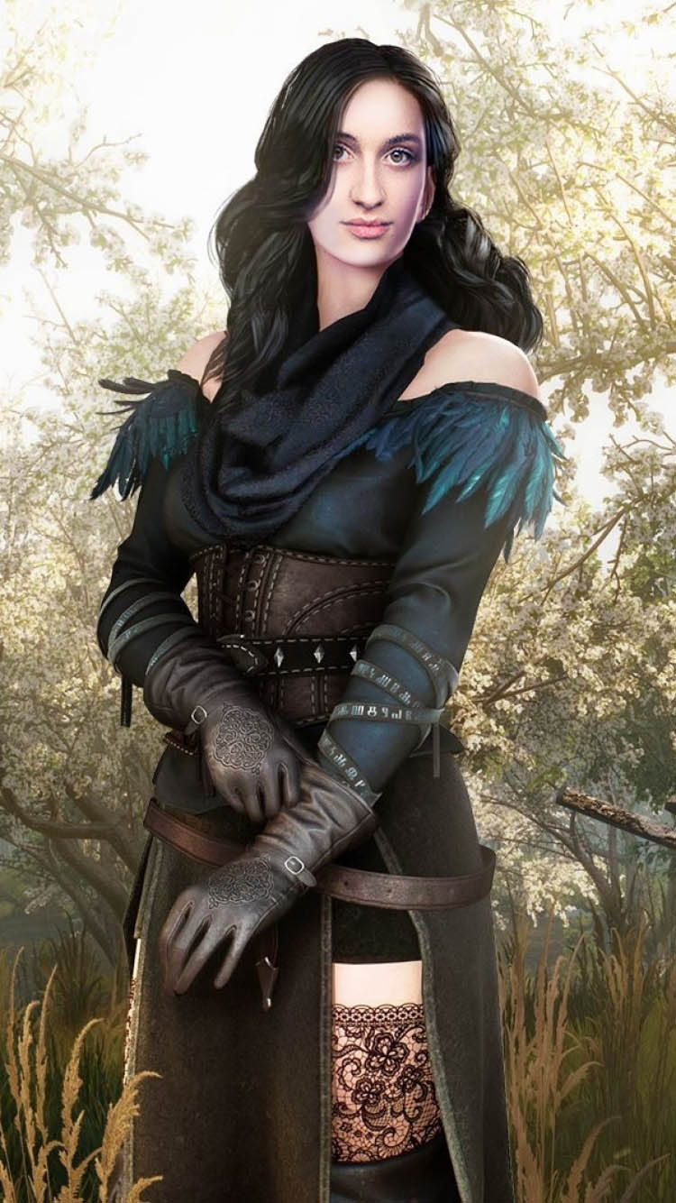 Yennefer en The Witcher - Anya Chiodra