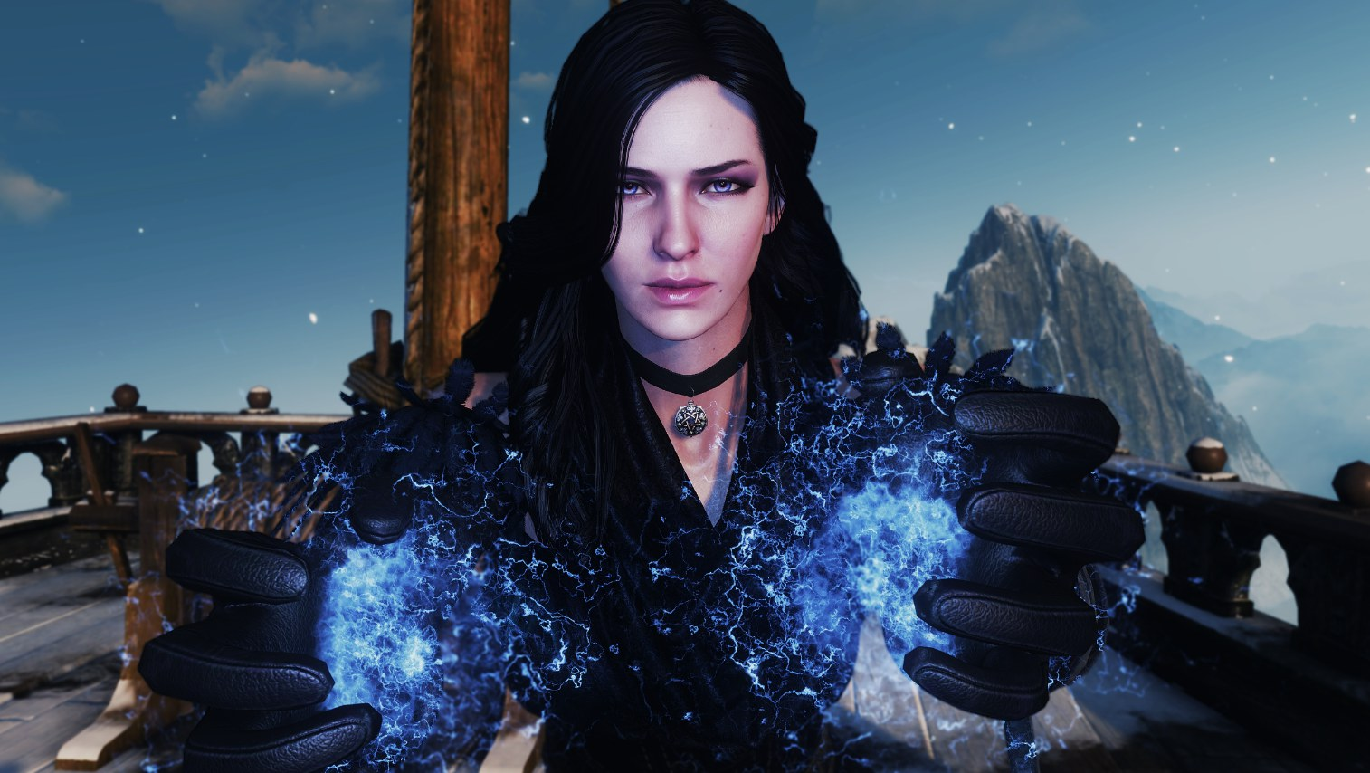 The Witcher As Ser An Anya Chalotra Como Yennefer Y