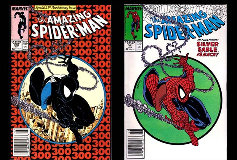 Amazing Spider-man 300 y 301