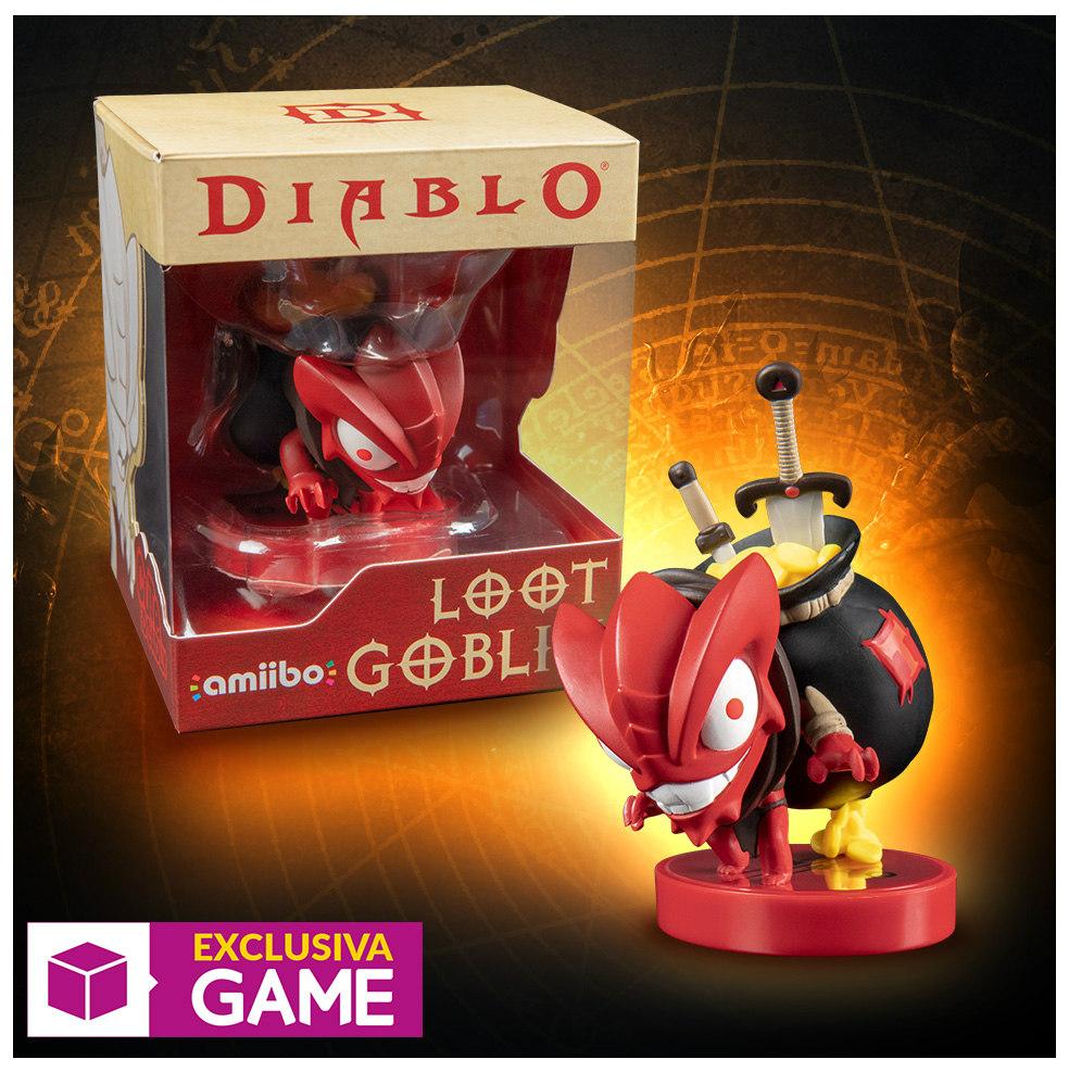 """Amiibo de Diablo III: Eternal Collection """"Loot Goblin"""" Exclusivo GAME"""
