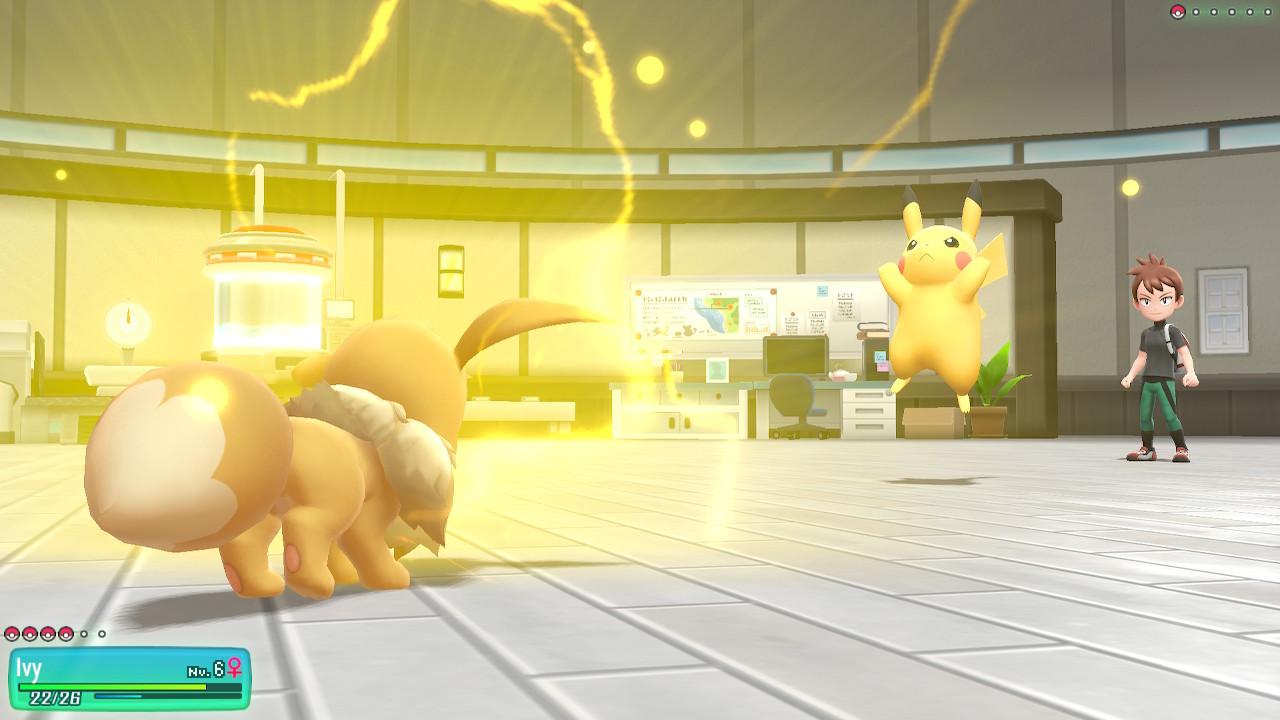 lets go, pikachu, eevee