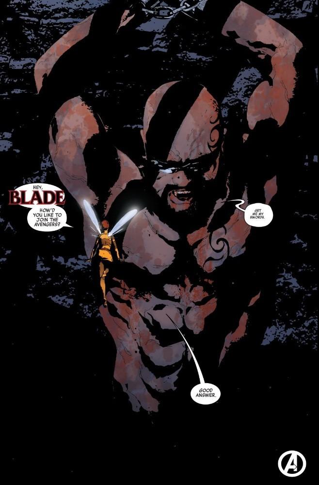 Blade se une a los Vengadores