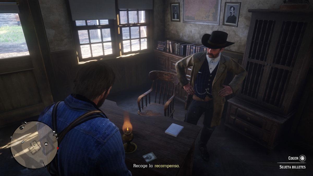Cazarrecompensas en Red Dead Redemption 2