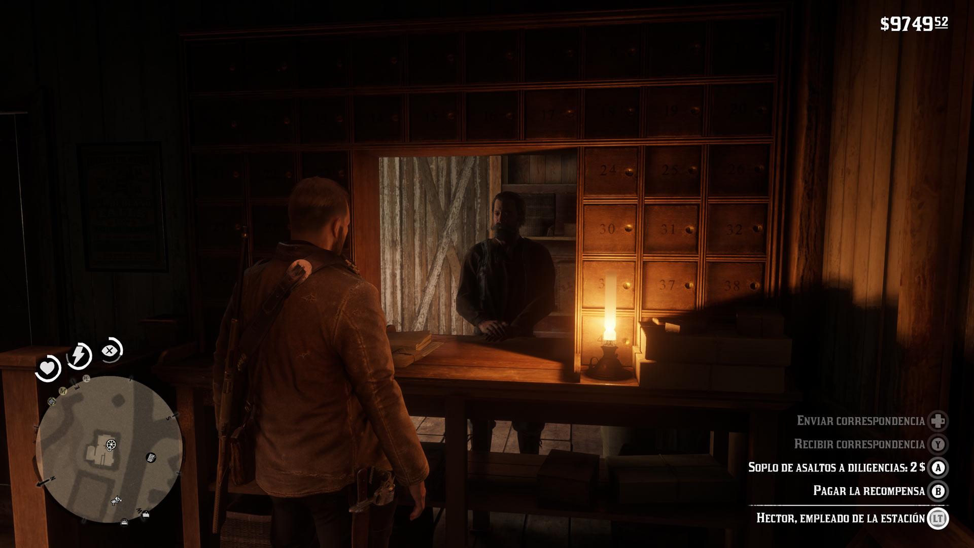 Diligencias Red Dead Redemption 2