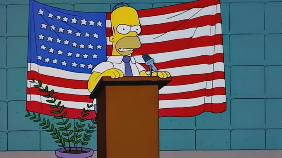 Errores Simpson - Bandera