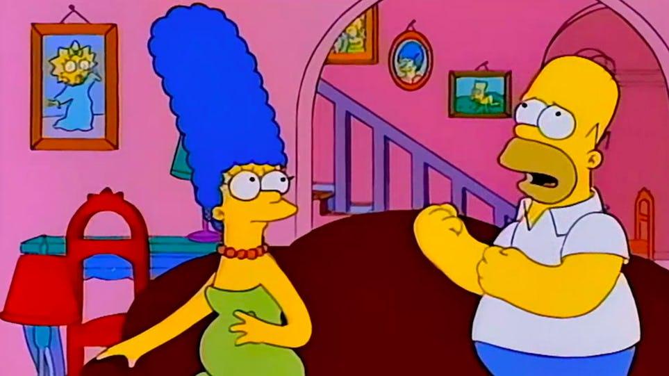 Errores en Los Simpson - Maggie
