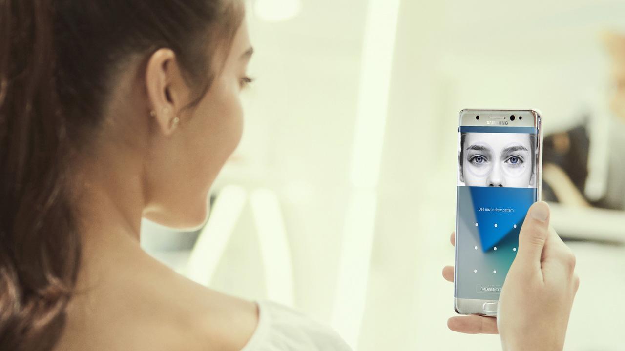 Escáner iris Galaxy S9