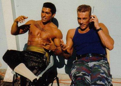 Jay Tavare y Jean Claude Van Damme