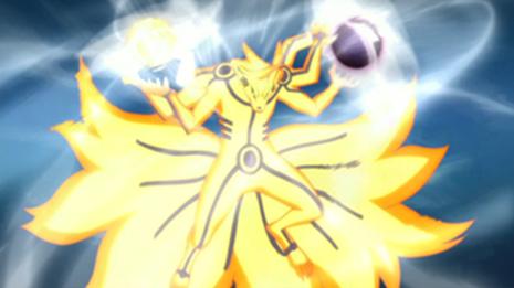 Jutsus Naruto - Rikudô: Chôôdama Rasenshuriken