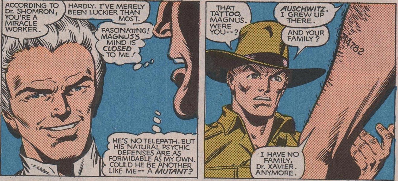 Magneto y Xavier, colegas de juventud