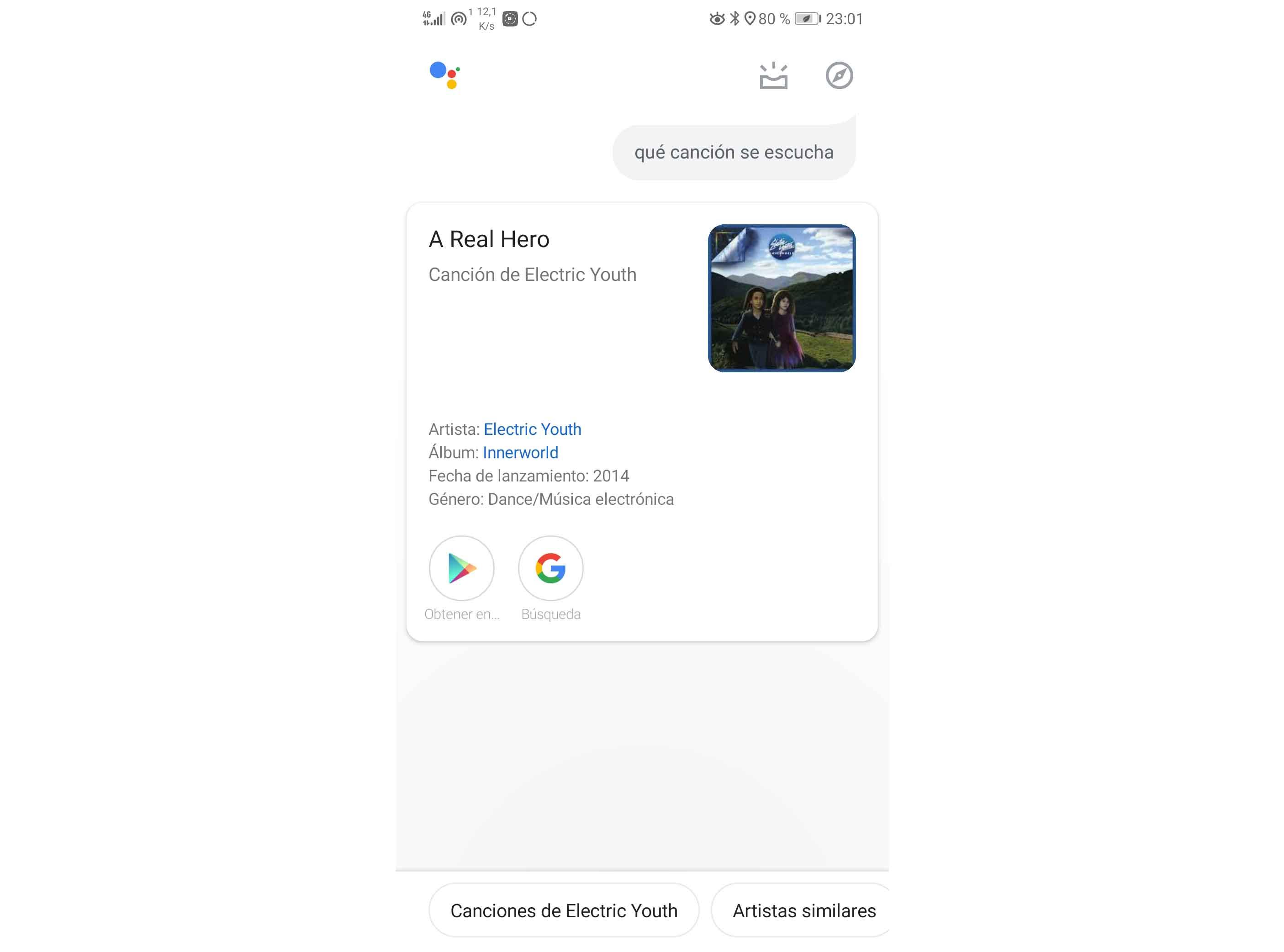 Opciones de Android