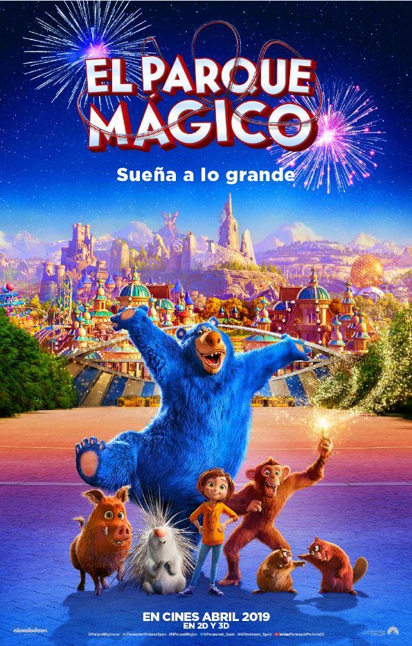 El parque mágico póster oficial