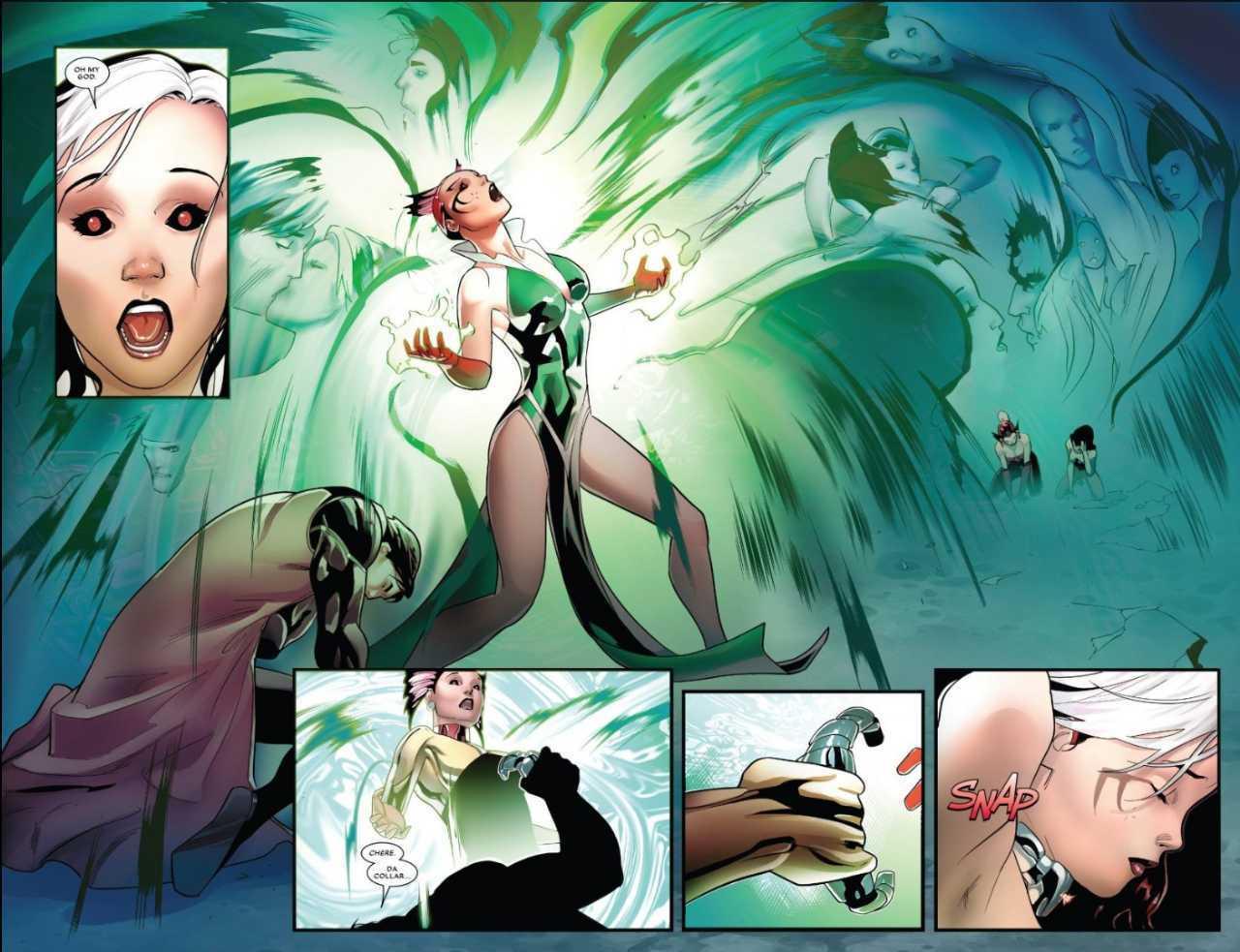 Pícara muestra nuevos poderes en los cómics