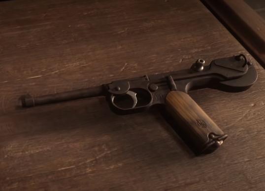 Pistola Semiautomática Red Dead Redemption 2