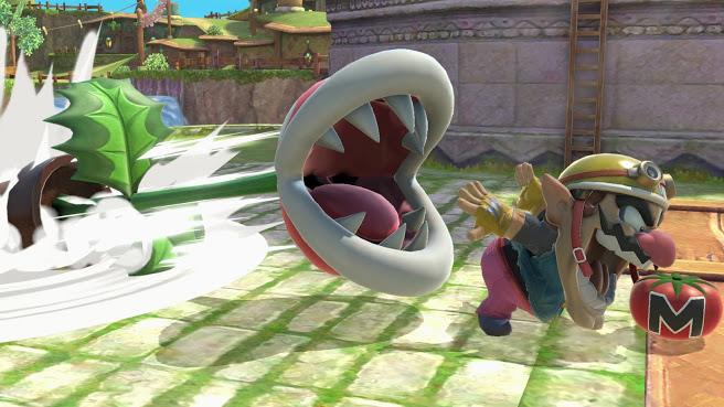 Planta Piraña en Super Smash Bros. Ultimate
