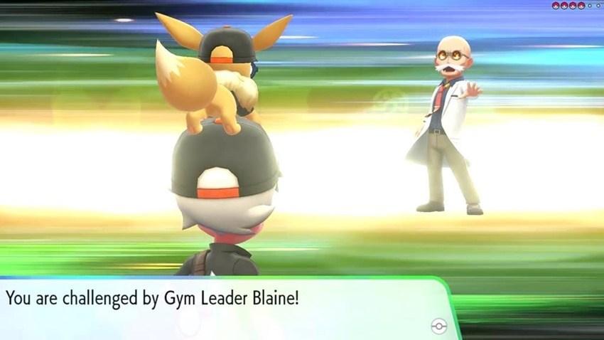 Pokémon Let's GO - Blaine
