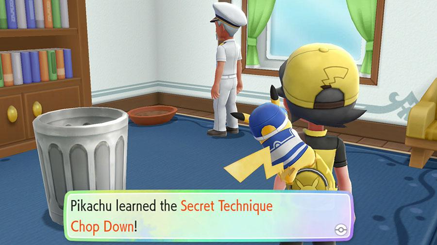 Pokémon Let's GO Pikachu/Eevee - Maquinas Técnicas