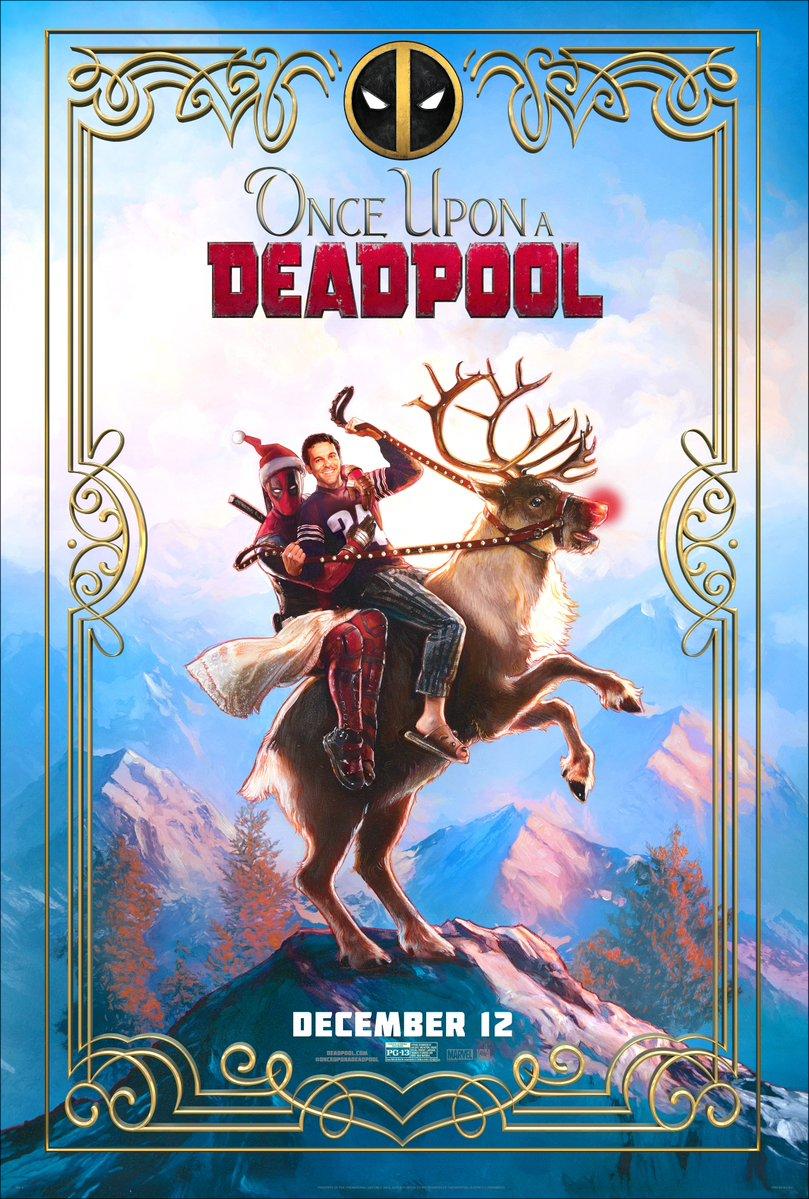 Póster oficial de Érase una vez Deadpool