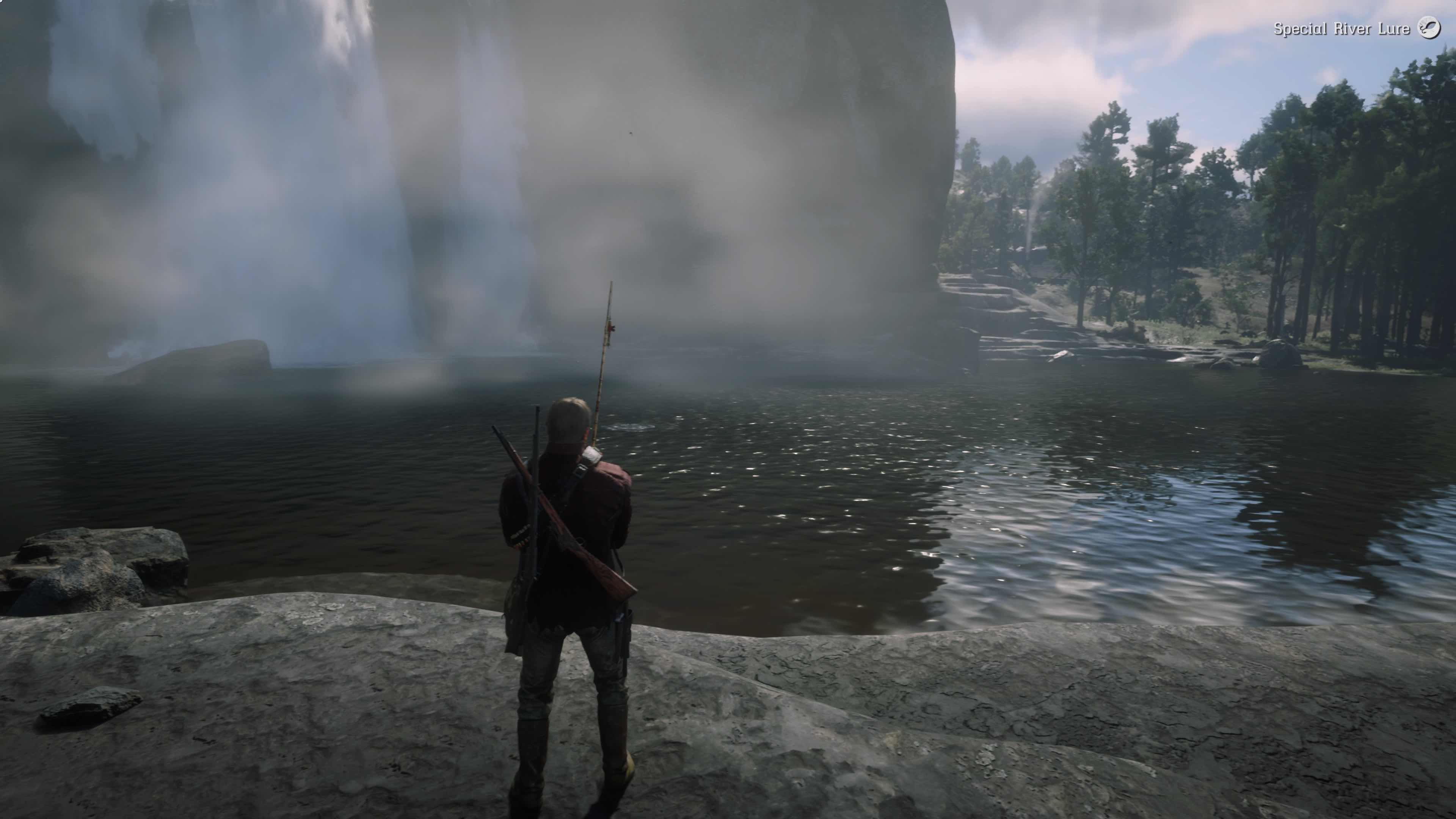 Red Dead Redemption 2 Pesca