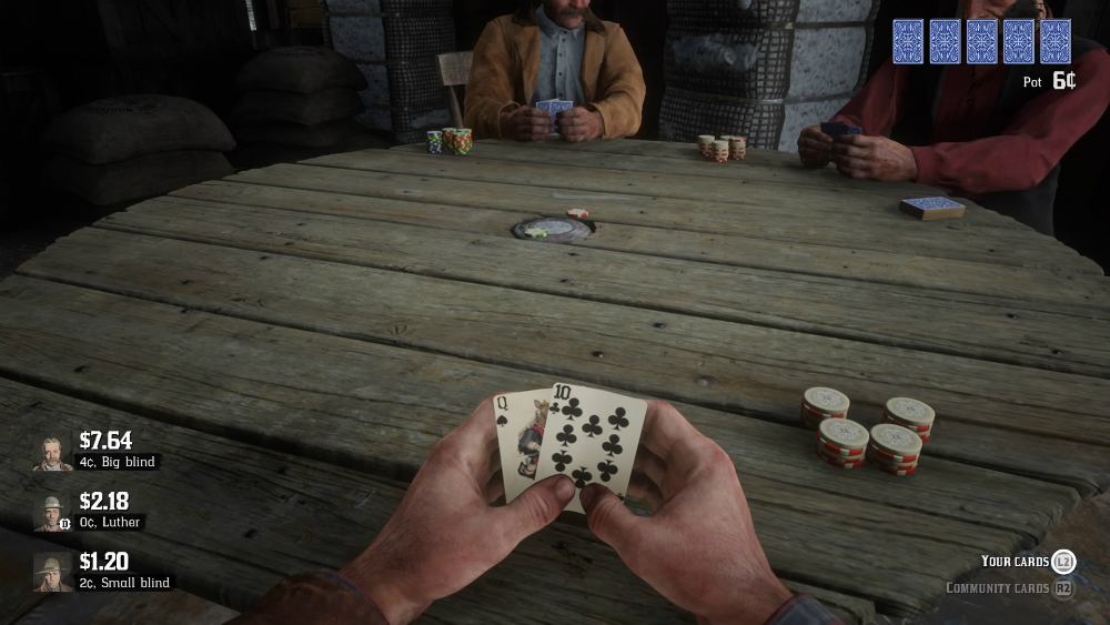 Red Dead Redemption 2 - Póker