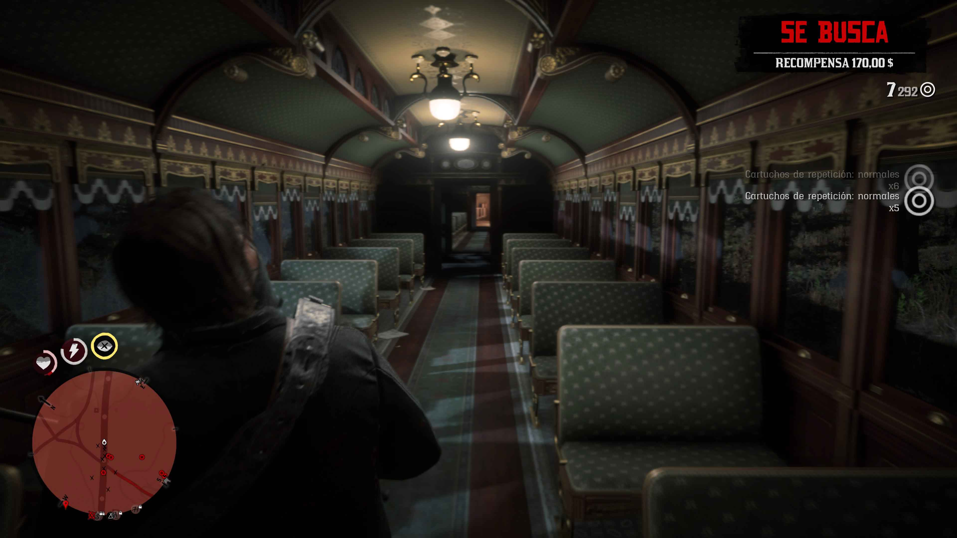 Robar trenes Red Dead Redemption 2