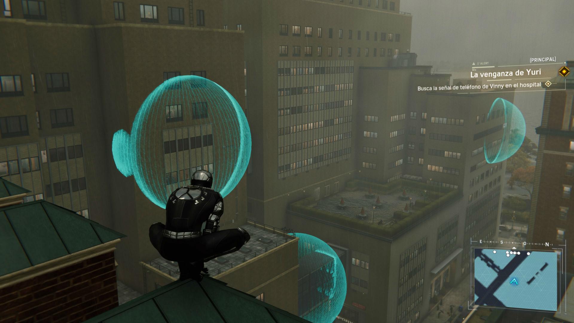 Spiderman PS4 DLC 2 Guerras de Territorio