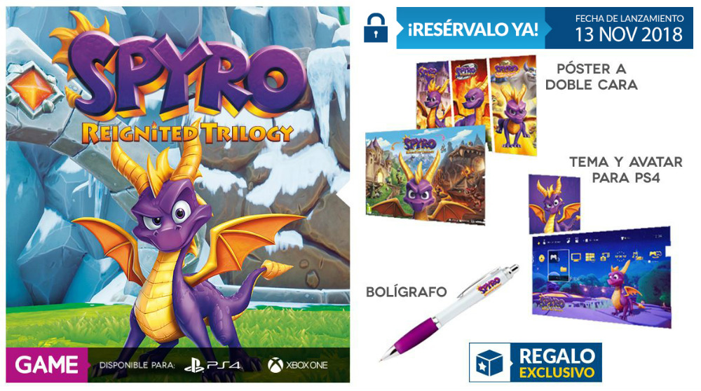 Spyro Reignited Trilogy en GAME