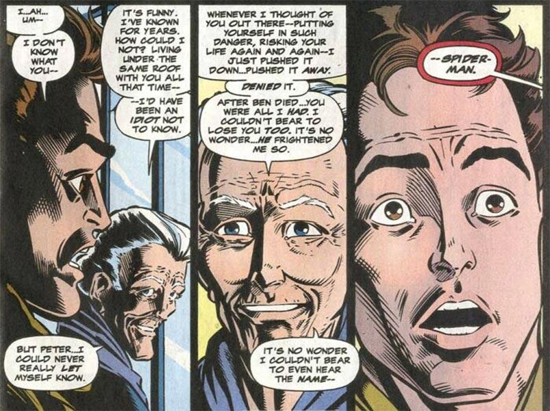 Tía May sabía la identidad de Spider-man