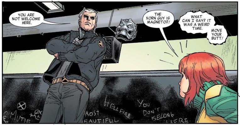 Xorn era Magneto disfrazado