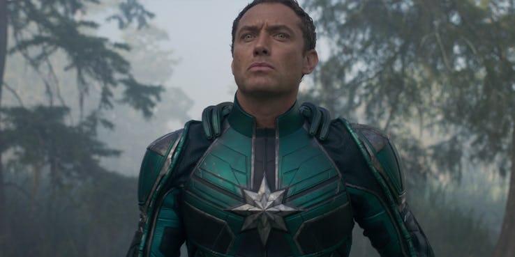 8. Jude Law... ¿un villano en Capitana Marvel?