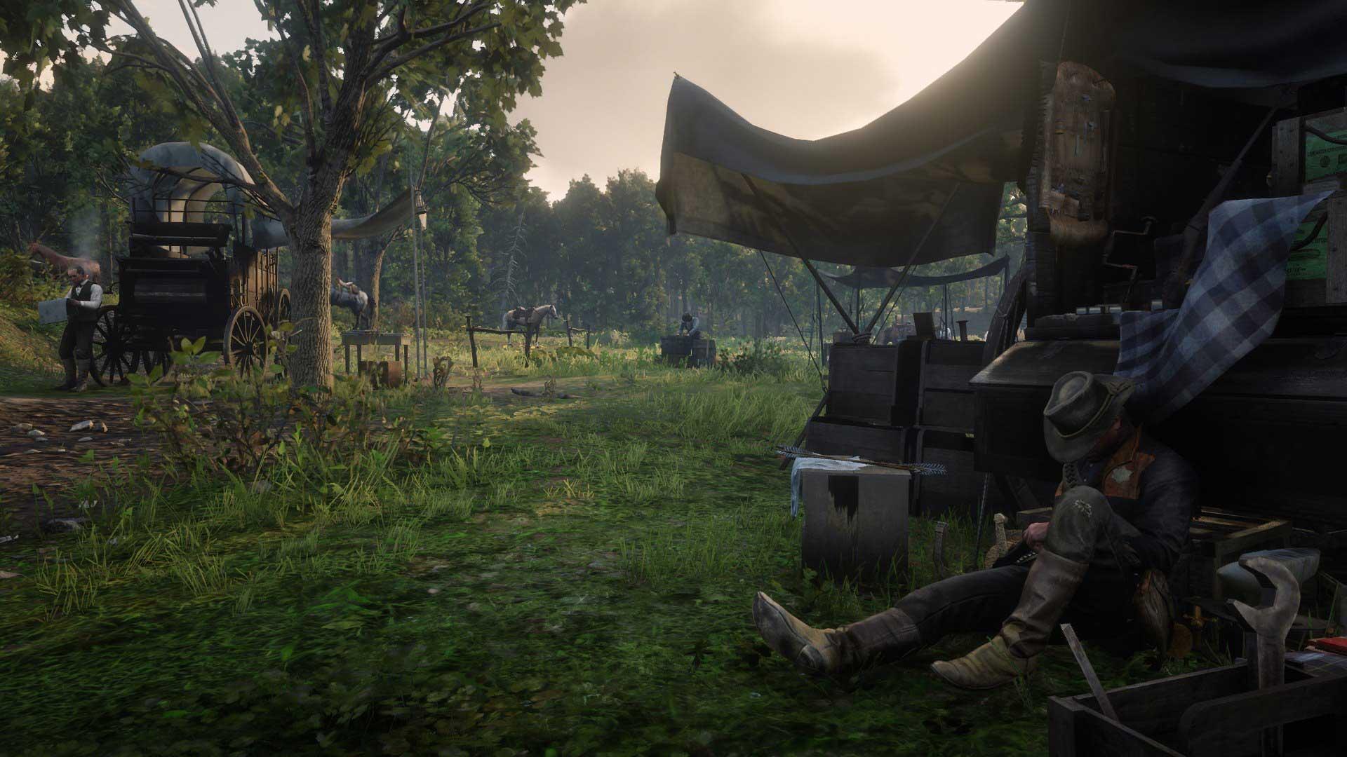 Campamentos en Red Dead Online: cómo evitar ser atacado, cómo moverlos y mucho más