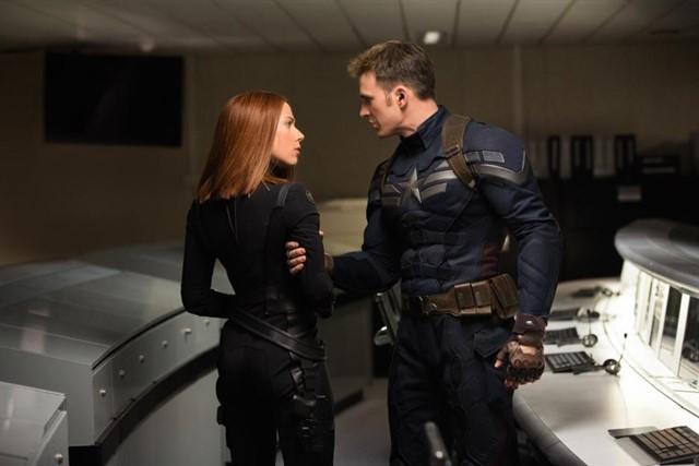 Capitán América y Viuda Negra