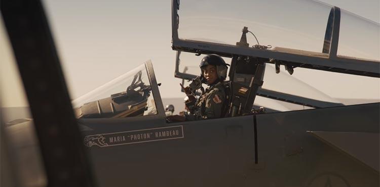Carol Danvers y Maria Rambeau, pilotos de las Fuerzas Aéreas en Capitana Marvel