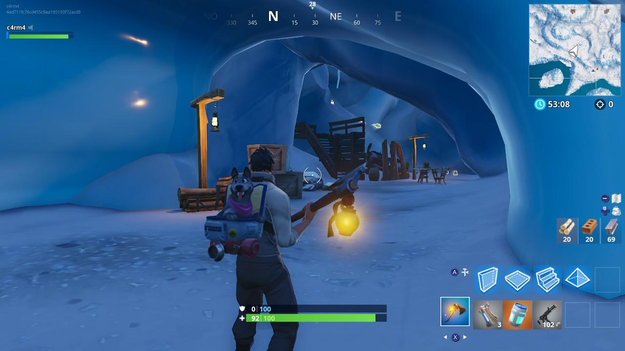 Cueva Yeti Fortnite