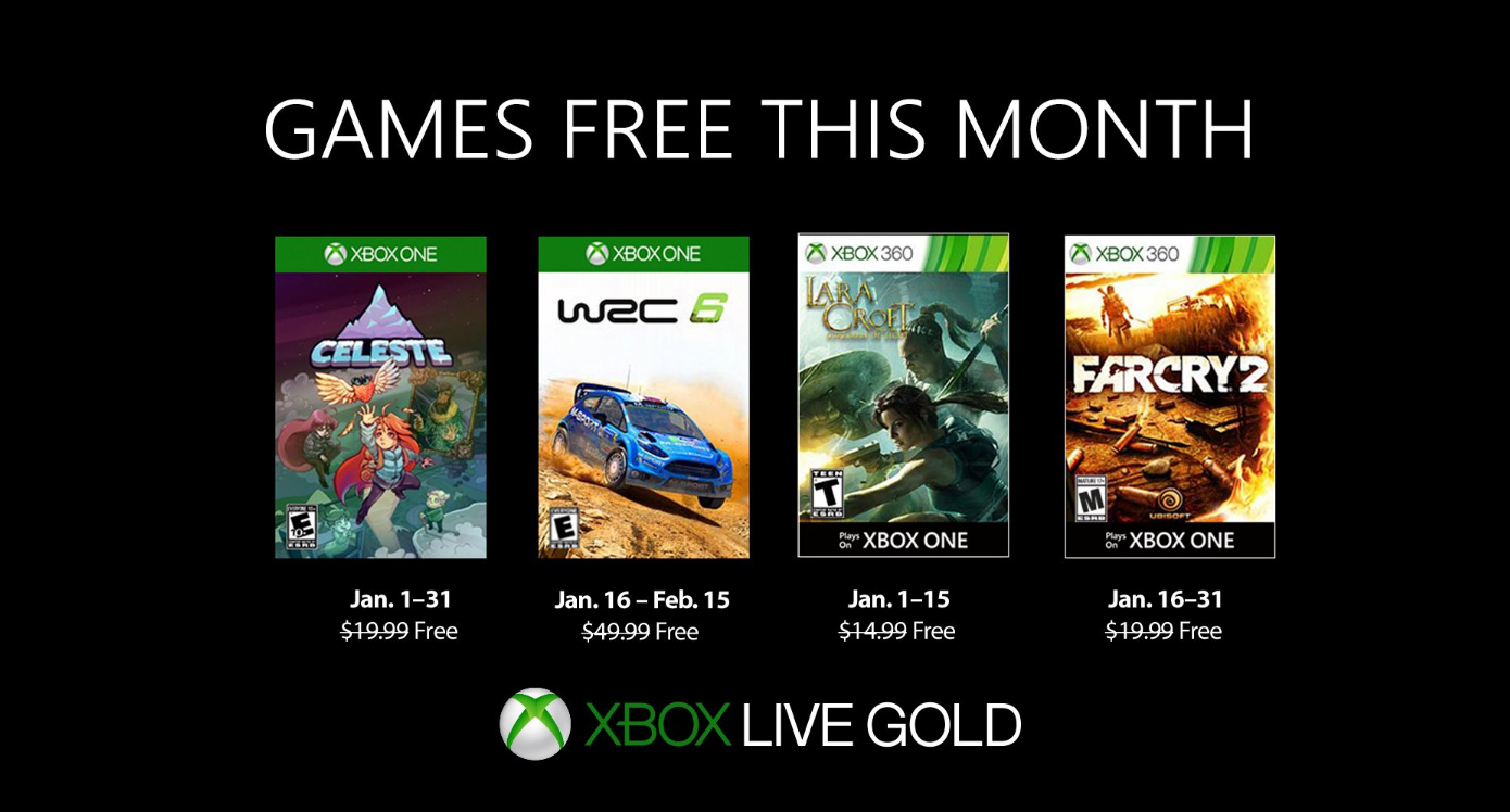 Juegos Gratis De Enero Para Xbox One Con Games With Gold