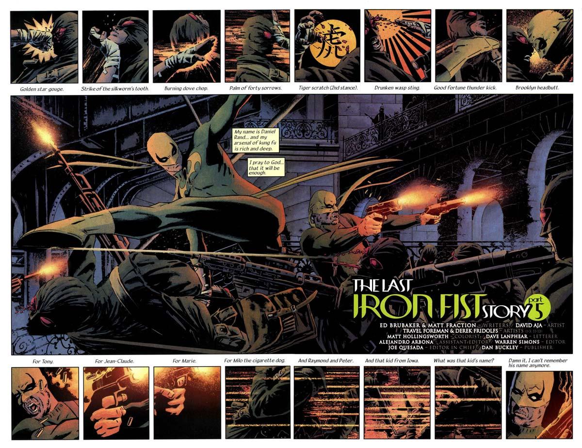 Marvel Saga El Inmortal Puño de Hierro