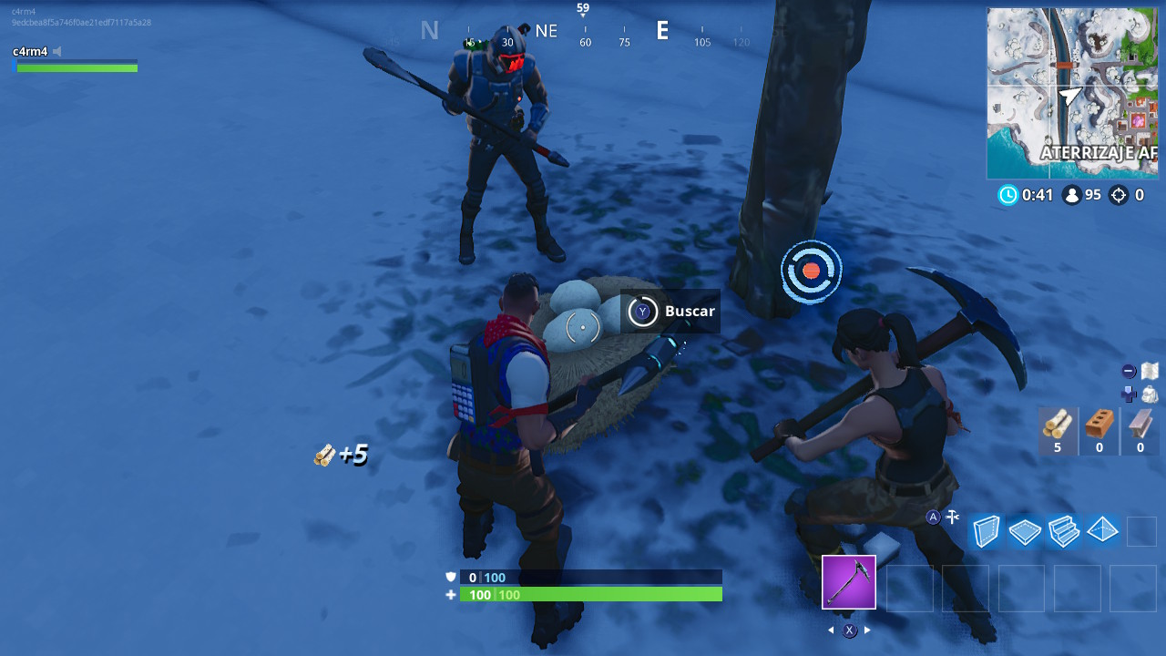 Nidos gansos Fortnite