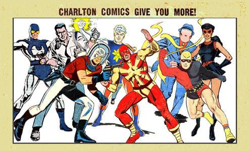 Personajes de Charlton Comics que inspiraron Watchmen