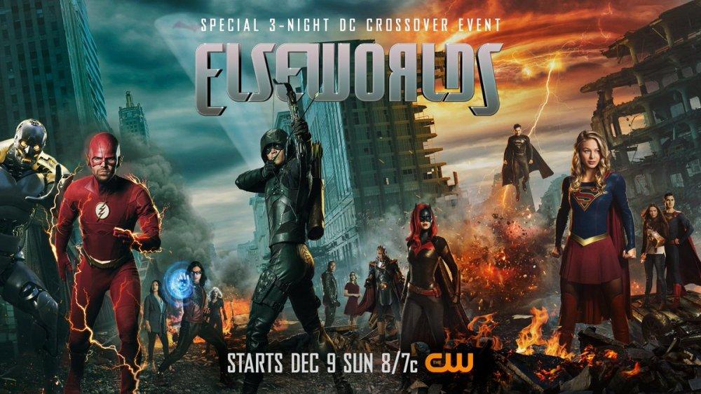 Póster de Elseworlds, el nuevo crossover del Arrowverse