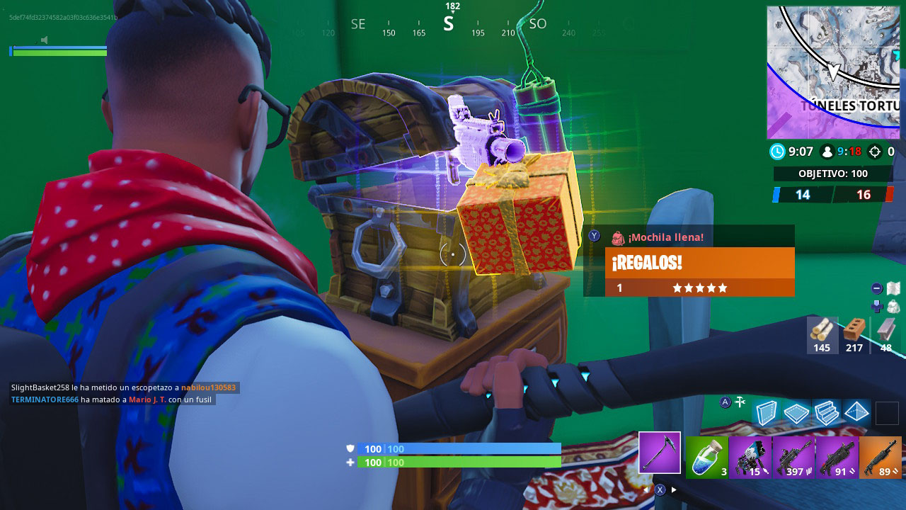 Fortnite 14 Days Of Christmas.Use Gifts Or Boogie Bombs At Fortnite 14 Days Fortnite
