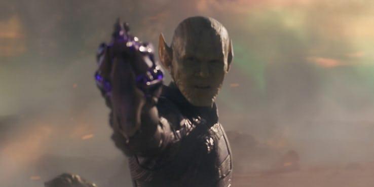 Los Skrull, responsables del accidente de Capitana Marvel
