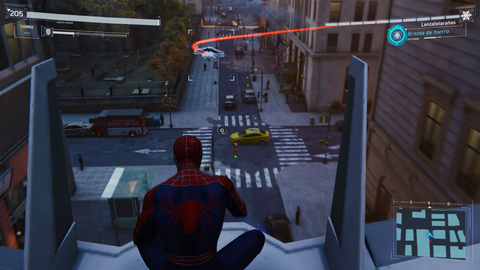 Spiderman PS4 Silver Lining