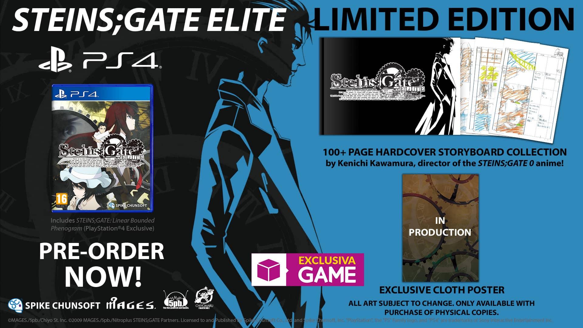 Steins;Gate Elite Limited Edition