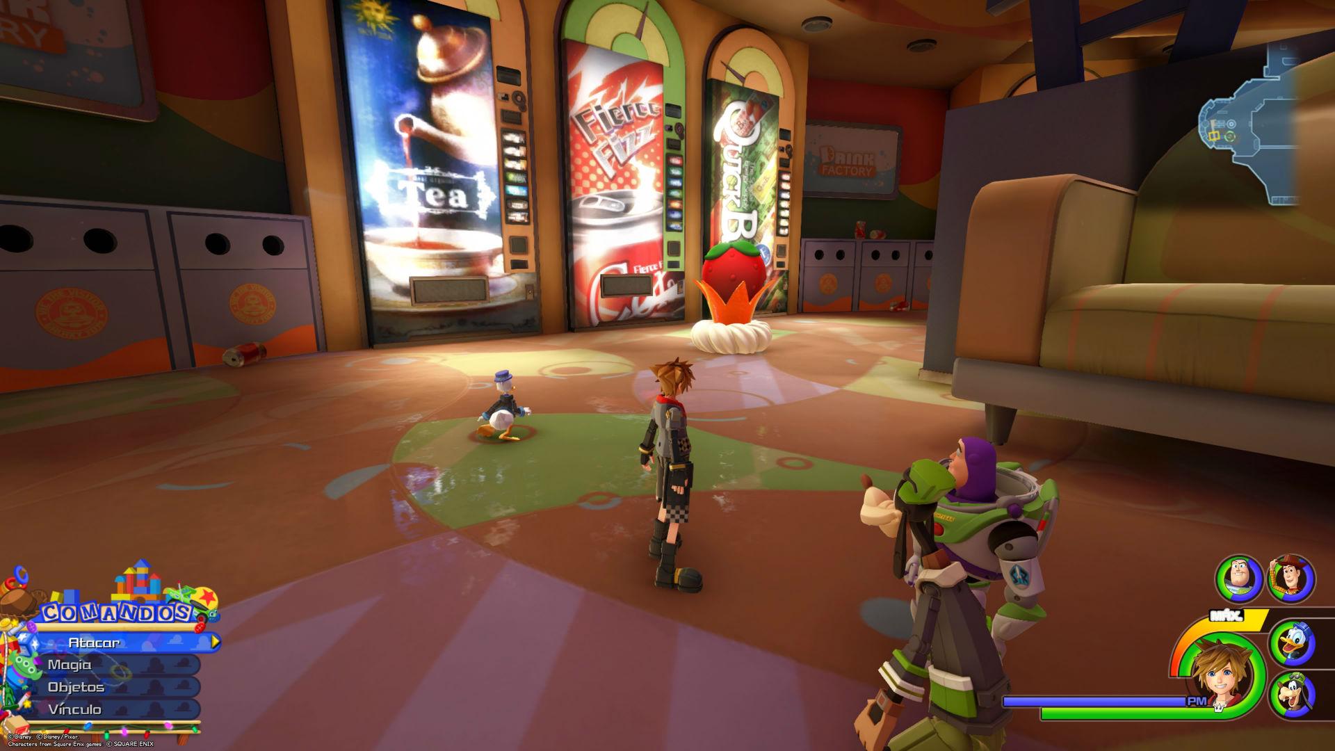 Flanes fantásticos Kingdom Hearts 3