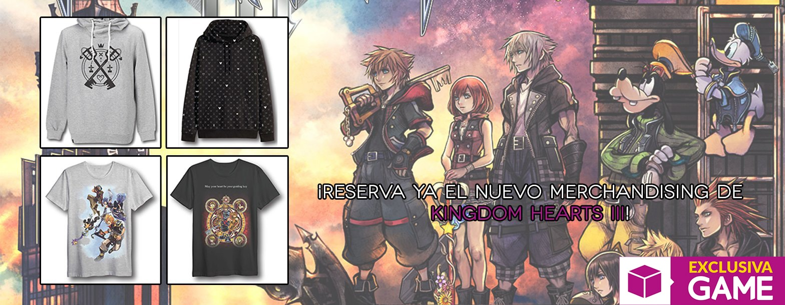 Merchandising Kingdom Hearts 3 en GAME