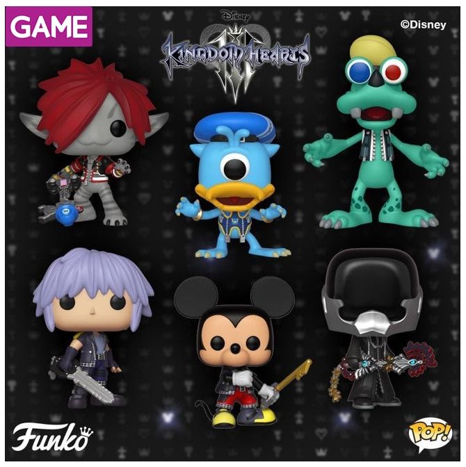 Funko Pop Kingdom Hearts 3 en GAME