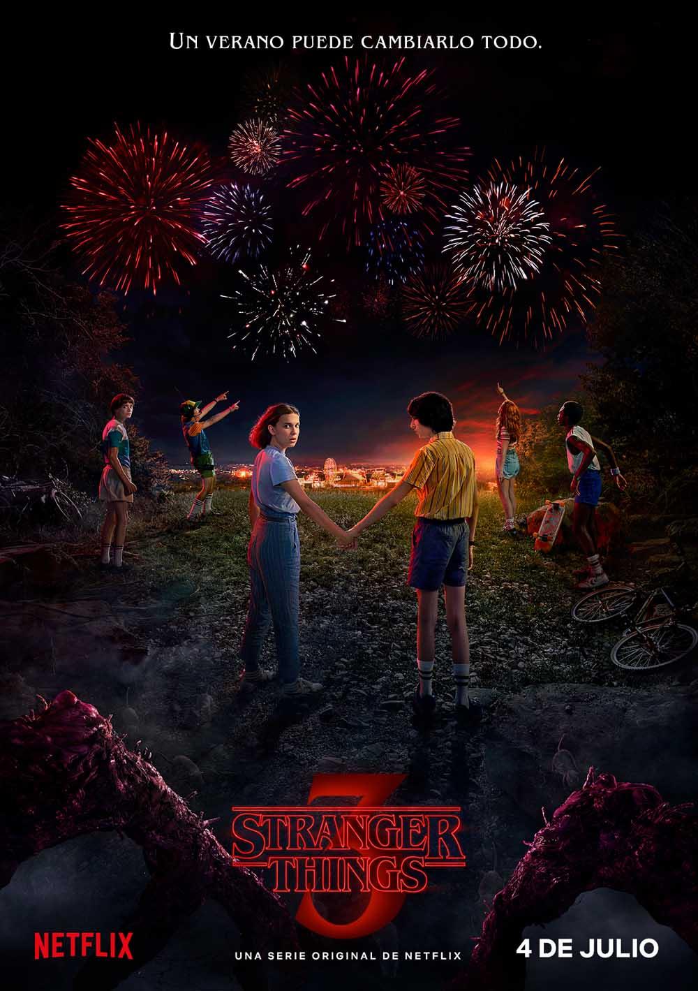 Stranger Things temporada 3 - poster en castellano