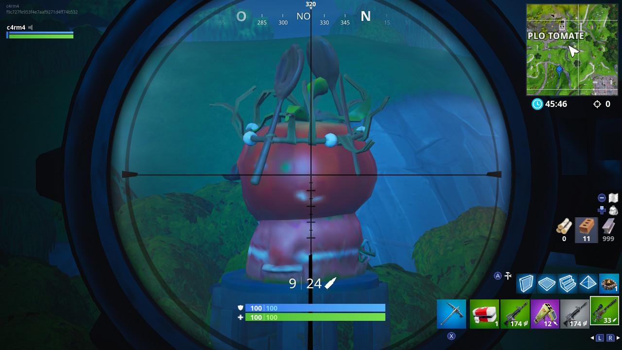 tomate coronado fortnite - semana 4 fortnite