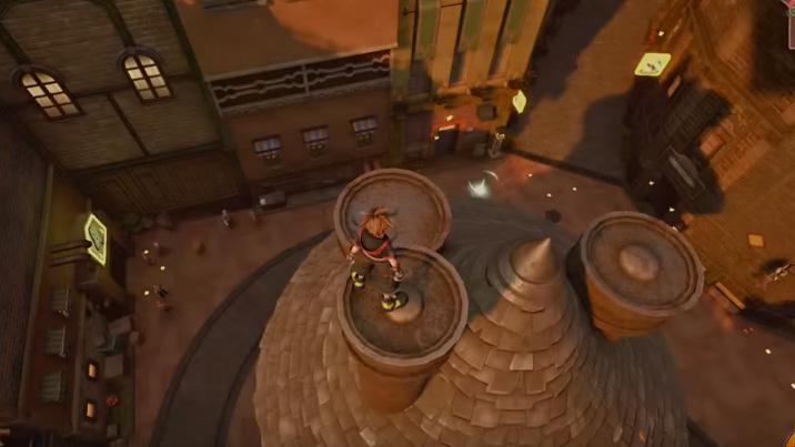Portafortunas Kingdom Hearts 3