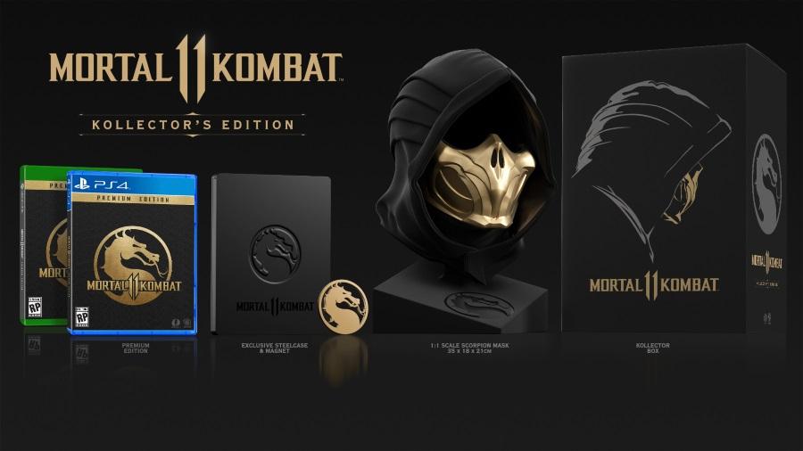 Resultado de imagen de Mortal Kombat 11 Kollector's Edition